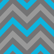 Robotika Chevron (Small Blue)