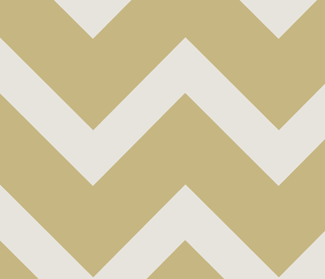 Thick Gold Chevron fabric by karmie on Spoonflower - custom fabric