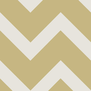 Thick Gold Chevron