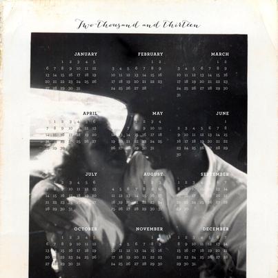Falling in Love 2013 Calendar