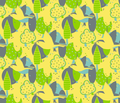 Heading_south fabric by alfabesi on Spoonflower - custom fabric