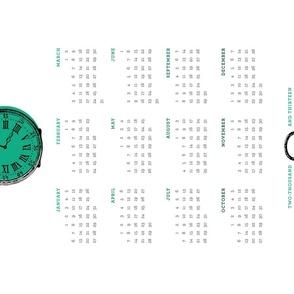 Pocketwatch 2013 Calendar