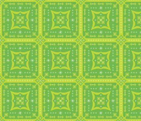 Festive Squares (Green)