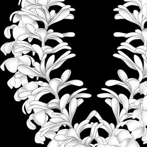 Flower Lei, Puakinikini, tiare flower