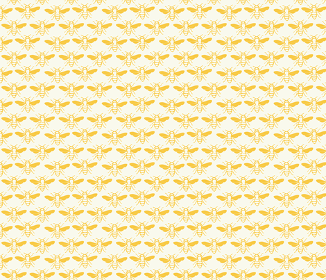 Beezzzzz fabric by oceanpien on Spoonflower - custom fabric