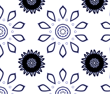 New Years Day fabric by neonraisin on Spoonflower - custom fabric