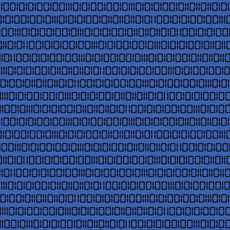 Evil Robot Binary (Blue) fabric by robyriker on Spoonflower - custom fabric