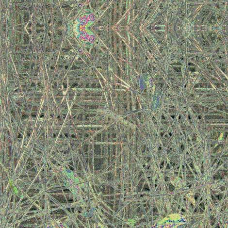 Grasses - altered with pearlized colors fabric by materialsgirl on Spoonflower - custom fabric