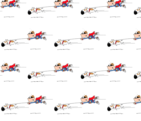 doghero fabric by characteristic on Spoonflower - custom fabric