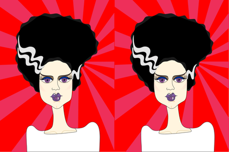 Bride of Frankenstein (red)