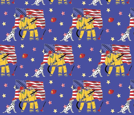 Always a hero fabric by cindilu on Spoonflower - custom fabric