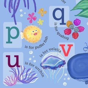a-b-sea! Underwater Alphabet