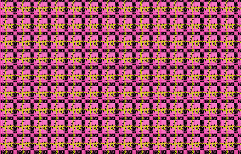 Tartan of the Plant Monster fabric by ani_bee on Spoonflower - custom fabric