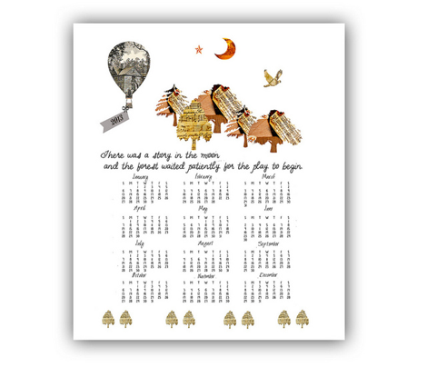 2013 Calendar Tea Towel, Little Women