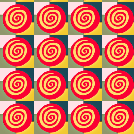 Bullseyes fabric by boris_thumbkin on Spoonflower - custom fabric