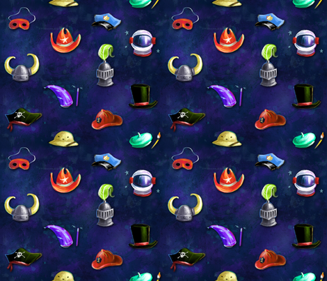 HERO fabric by bucketface on Spoonflower - custom fabric
