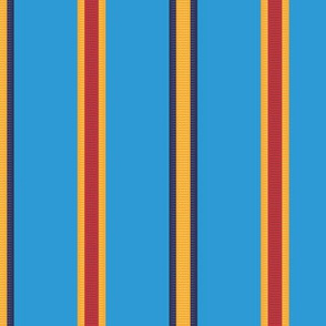 Medal Stripe - in stratosphere blue