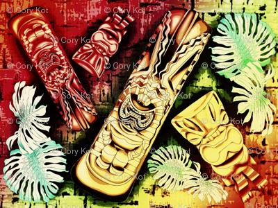 Tiki Rainbow cork