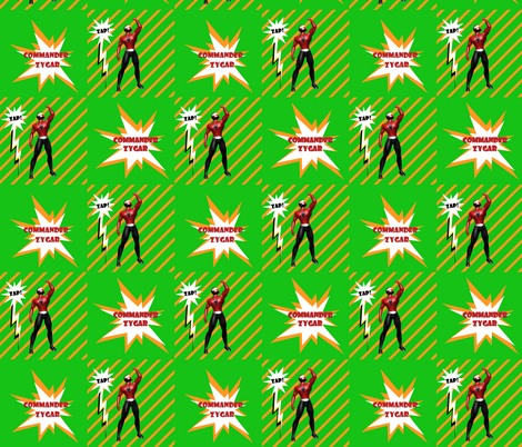 COMMANDER ZYGAR fabric by arttreedesigns on Spoonflower - custom fabric