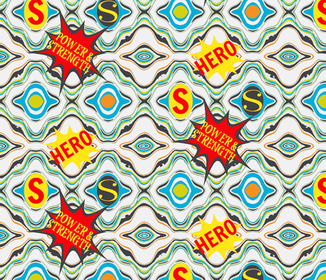 HERO fabric by kerryn on Spoonflower - custom fabric