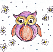 owls and flowers - maria