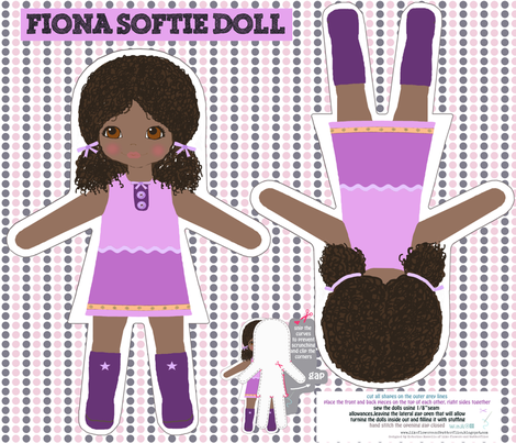 FIONA_softie_doll fabric by katarina on Spoonflower - custom fabric