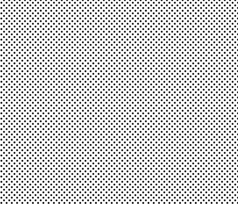 small dots black and white fabric by katarina on Spoonflower - custom fabric