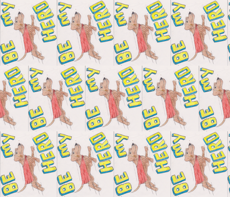 hero1 fabric by shelbied on Spoonflower - custom fabric