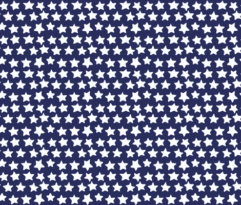 stars fabric by katarina on Spoonflower - custom fabric