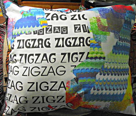 "Just ZigZag from ""Only the Cat Saw"" (large scale design)"