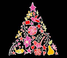 Rpear_tree_serviette_black_red_outlines2_comment_230105_thumb