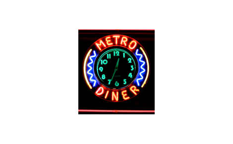 Metro Diner fabric by mbsmith on Spoonflower - custom fabric