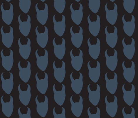 hornsup fabric by amandamaddox on Spoonflower - custom fabric