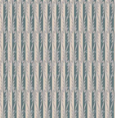 Gypsy Leaf Stripe slate-2