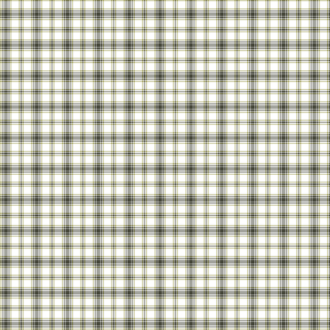 hikers' plaid tiny - khaki and yellow fabric by weavingmajor on Spoonflower - custom fabric