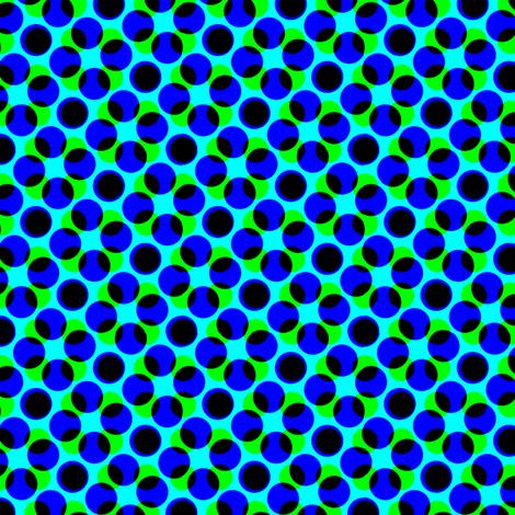 CMYK halftone dots - navy
