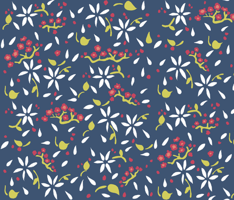 Matisse fabric by oceanpien on Spoonflower - custom fabric