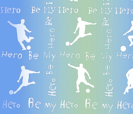 hero2 fabric by wordfabric on Spoonflower - custom fabric