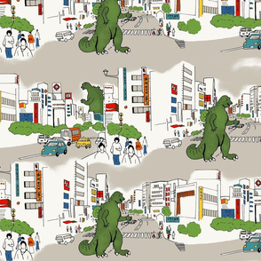 Godzilla Toile