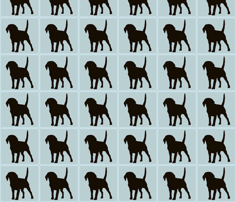 dogonly_copy fabric by fluture on Spoonflower - custom fabric
