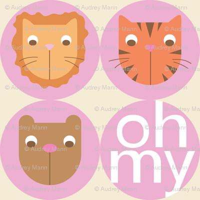 Lions, Tigers, Bears Big Circles (Girl)