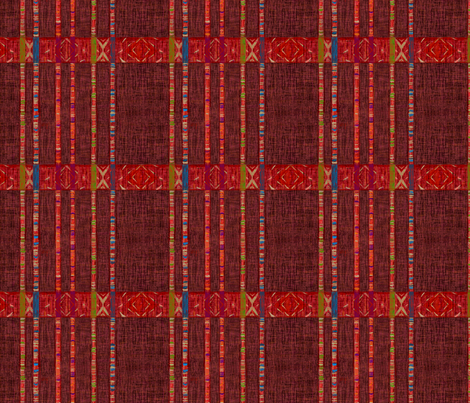 New Threads - Cord warp in weft. fabric by wren_leyland on Spoonflower - custom fabric