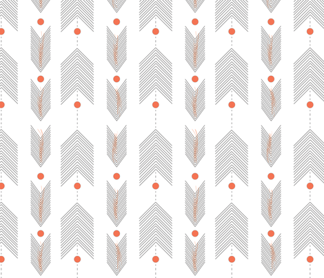 arrowFINAL fabric by clairejean on Spoonflower - custom fabric