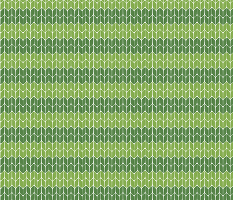 Knit-green fabric by pattern_bakery on Spoonflower - custom fabric