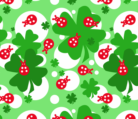 Fiaba Coccinella fabric by fiaba_fabrics on Spoonflower - custom fabric