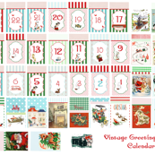 Drawstring Bag Advent Calendar