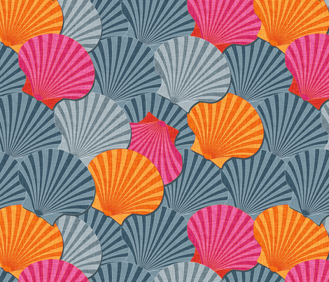 Shelly fabric by spellstone on Spoonflower - custom fabric