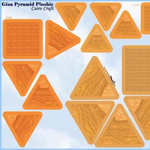 Giza_pyramid_plushie beanies