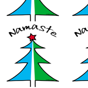  Namaste Christmas Tree