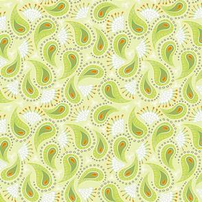 paisley - lime